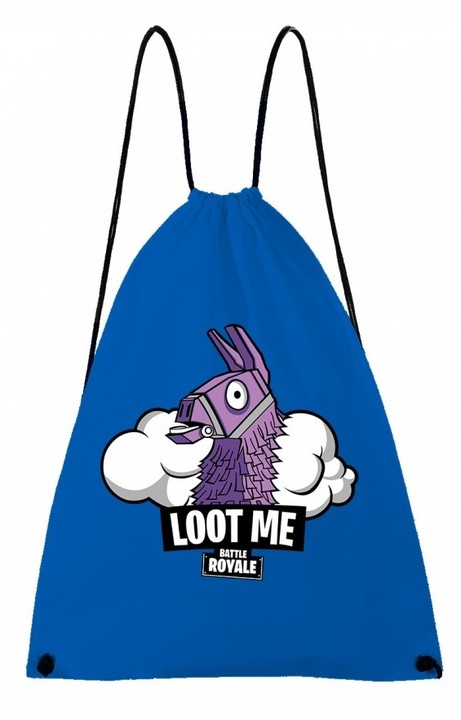 Vak Fortnite - Loot Me, modrý