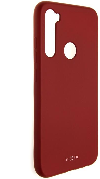 FIXED pogumovaný kryt Story pro Xiaomi Redmi Note 8, červená
