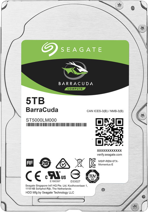 Seagate BarraCuda - 5TB