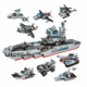 Hračka Qman Trans Collector: Marine Cruiser (1411), sada 8v1