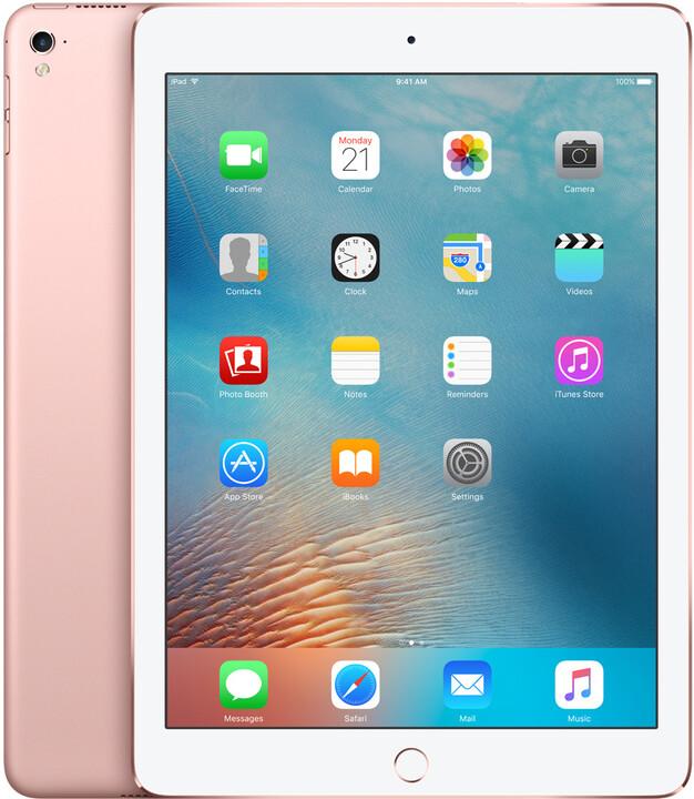 "APPLE iPad Pro, 9,7"", 128GB, Wi-Fi, růžová/zlatá"