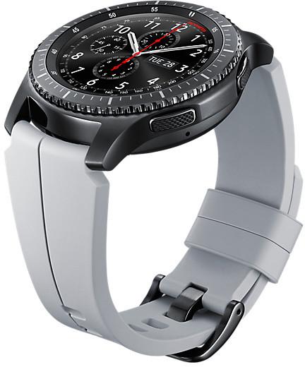Samsung výměnný pásek special Gear S3, stříbrný