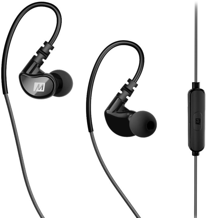 MEE audio X1, šedá/černá