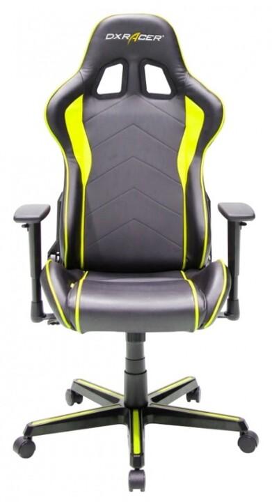 DXRacer Formula OH/FL08/NY, černá/žlutá