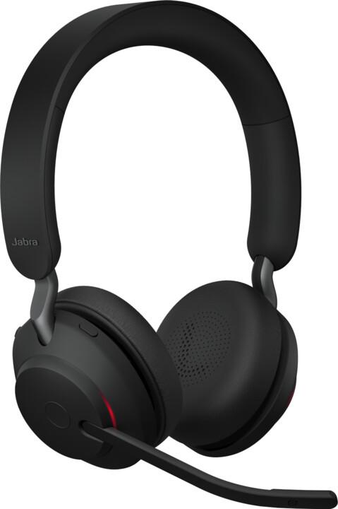 Jabra Evolve2 65, USB-A, MS Stereo, černá