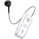 CELLY SNAIL, bluetooth headset s klipem a navijákem kabelu, bílá  + Voucher až na 3 měsíce HBO GO jako dárek (max 1 ks na objednávku)