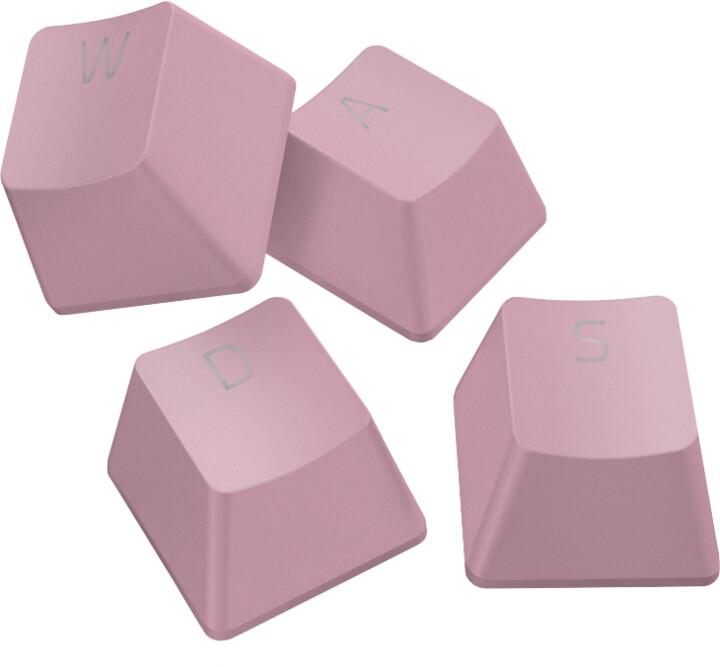 Razer PBT Keycap Upgrade Set, 120 kláves, růžové