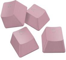 Razer vyměnitelné klávesy PBT Keycap Upgrade Set, 120 kláves, růžové - RC21-01490300-R3M1