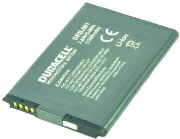 Duracell baterie pro BlackBerry JM-1, 1300 mAh