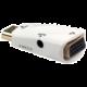 PremiumCord převodník HDMI na VGA + audio, bílý