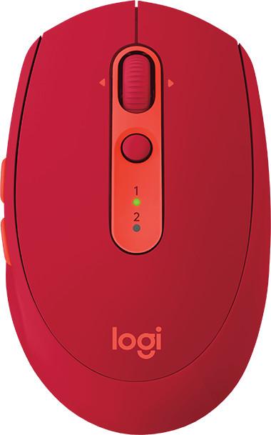 Logitech M590 Silent, červená