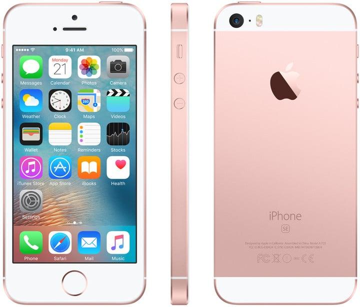 Apple iPhone SE 64GB, růžová/zlatá