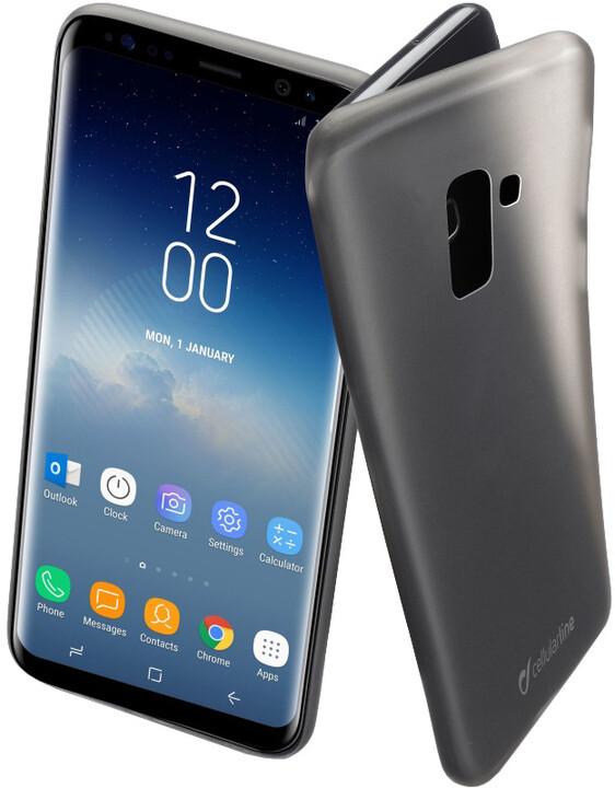 CellularLine ochranný zadní kryt INK pro Samsung Galaxy S9, černý