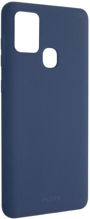 FIXED Story zadní pogumovaný kryt pro SamsungGalaxy A21s, modrá