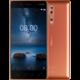 Nokia 8, Dual sim, lesklá měděná
