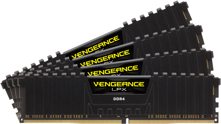 Corsair Vengeance LPX Black 16GB (4x4GB) DDR4 3000 CL15