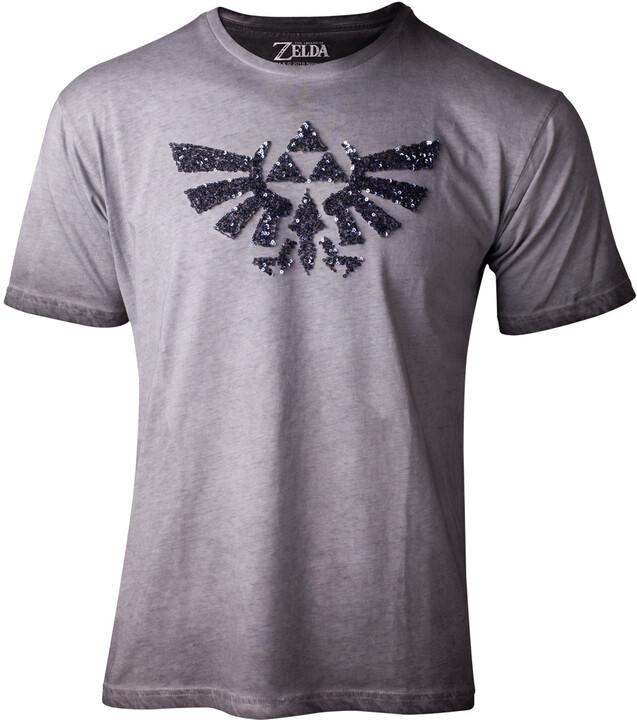 Tričko The Legend of Zelda - Silver Sequins, dámské (S)