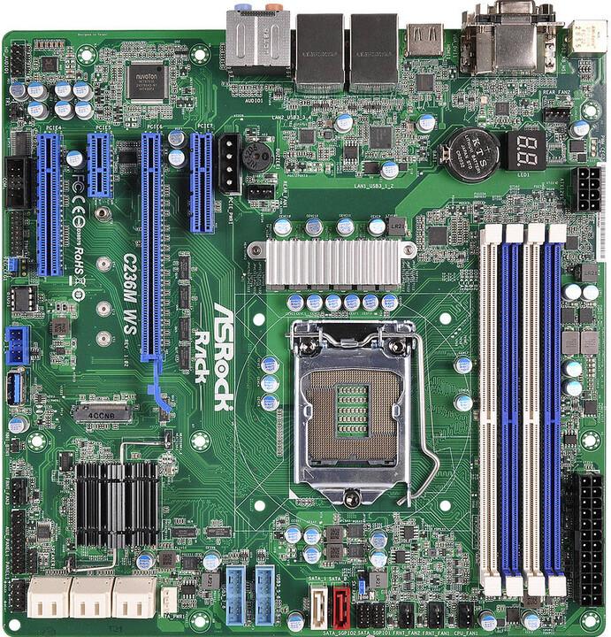 ASRock C236M WS - Intel C236