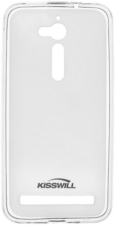 Kisswill TPU pouzdro pro Asus ZenFone GO ZB500KG, transparentní