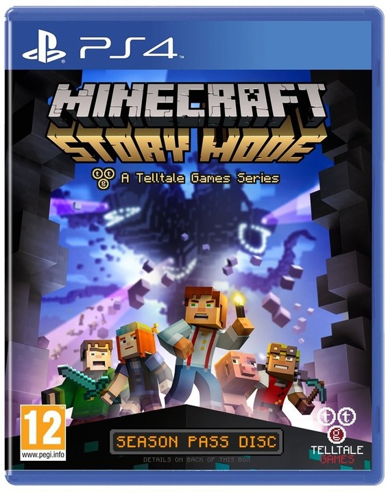 Minecraft: Story Mode - PS4