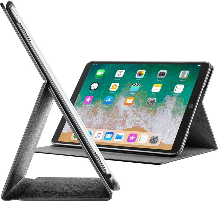 """CellularLine Pouzdro se stojánkem FOLIO pro Apple iPad Pro 12,9"""" (2017), černé"""