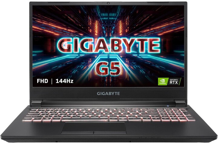 GIGABYTE G5 KC, černá