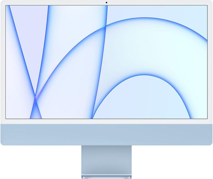 "Apple iMac 24"" 4,5K Retina M1/16GB/512GB/8-core GPU, modrá"