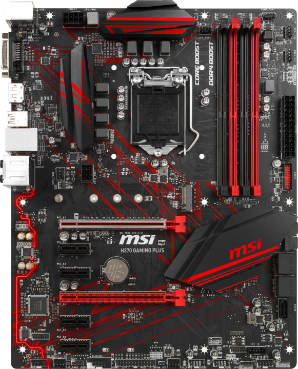 MSI H370 GAMING PLUS - Intel H370