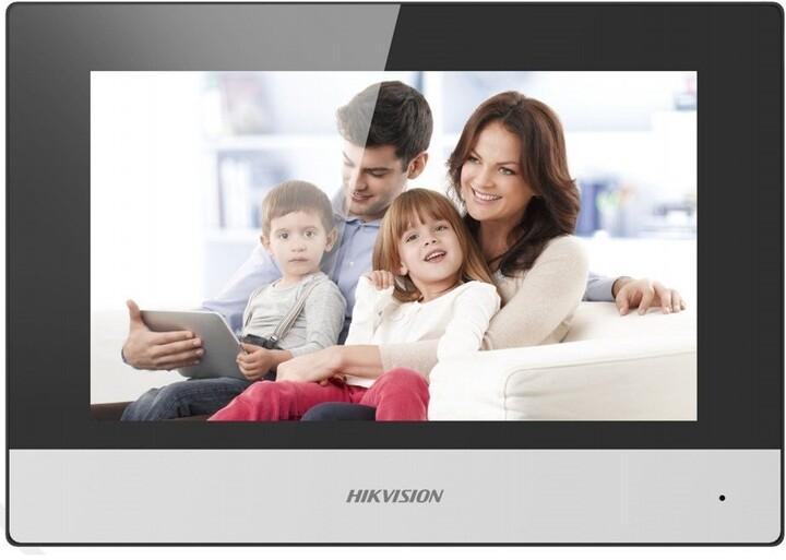 """Hikvision DS-KH6320-WTE2 - 7"""", Wi-Fi, černá"""