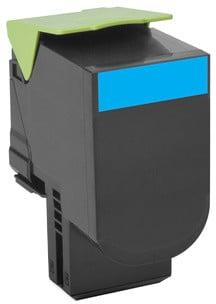 Lexmark 70C20C0, cyan, return
