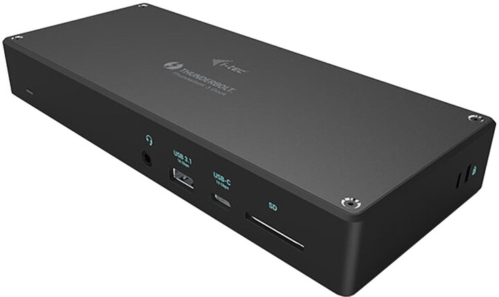 i-tec Thunderbolt™ 3 3x Display Docking Station with Power Delivery 96W