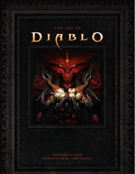 Kniha The Art of Diablo