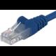 PremiumCord síťový UTP patch kabel cat. 5e, 5m, modrý