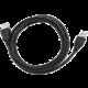 Gembird CABLEXPERT kabel USB A-A 1,8m 2.0 prodlužovací HQ zlacené kontakty, černá