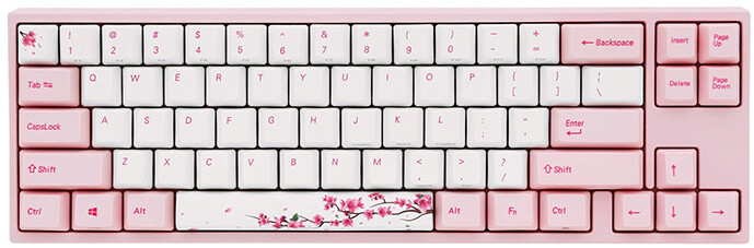 Ducky MIYA Pro Sakura, Cherry MX Brown, US