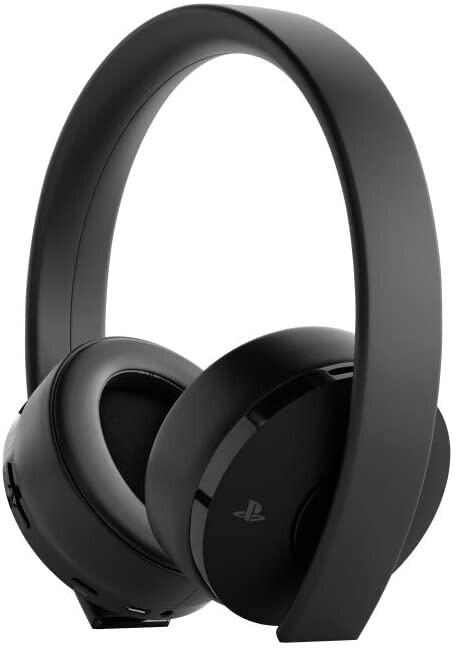 Sony PS4 - Gold Wireless Headset, černá + Fortnite (2000 V-Bucks)