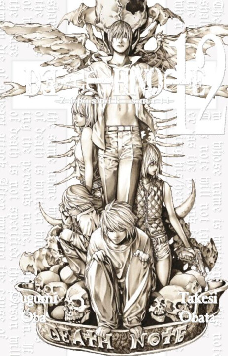 Komiks Death Note - Zápisník smrti, 12.díl, manga