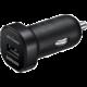 Samsung cestovní adaptér do auta USB, černá  + kompresní ponožky Klimatex (v ceně 399 Kč)