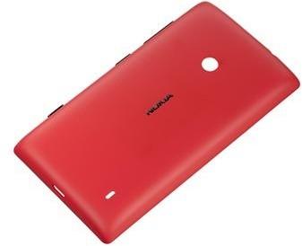 Nokia CC-3068 ochranný kryt pro Lumia 520, červená