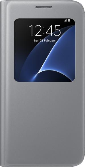 Samsung EF-CG930PS Flip S-View Galaxy S7, Silver