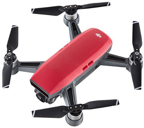 DJI dron Spark červený + ovladač zdarma