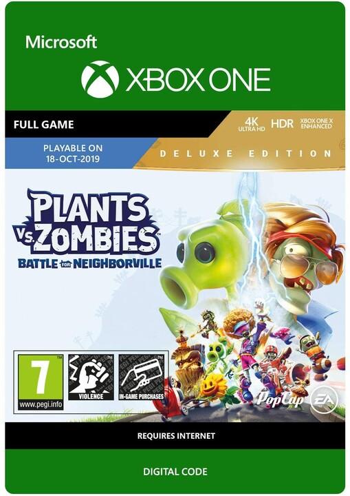 Hra XONE - Plants vs. Zombies: Battle for Neighborville: Deluxe Edition (Xbox ONE) - elektronicky