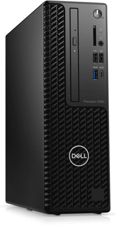 Dell Precision 3450 (SFF), černá
