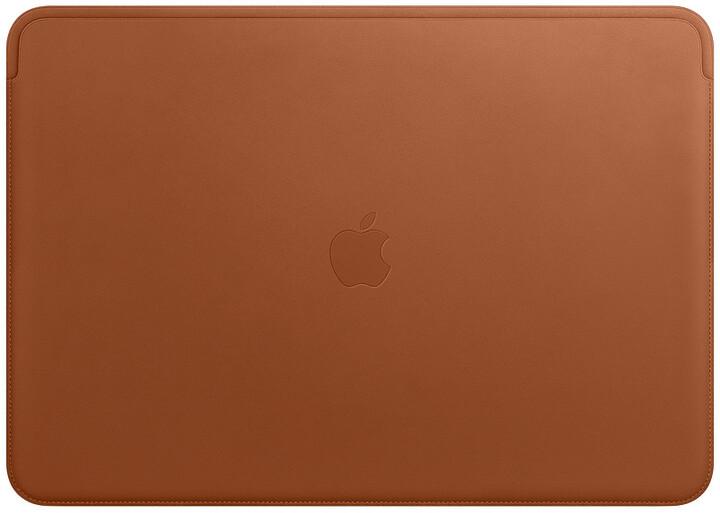 """Apple pouzdro pro MacBook Pro 15 """" Leather Sleeve, sedlově hnědá"""