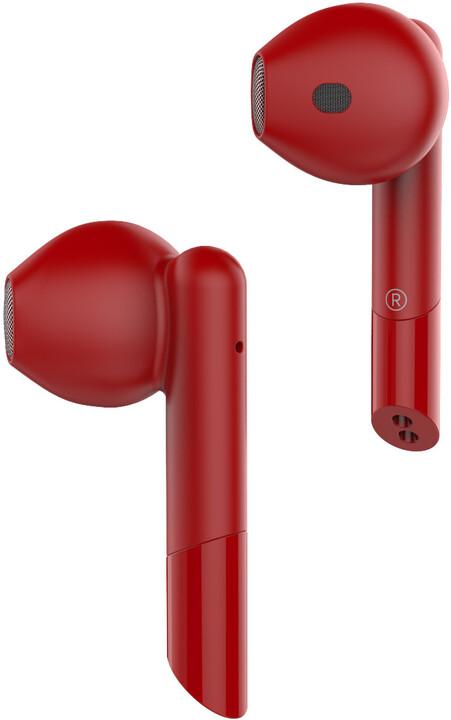 MYKRONOZ ZeBuds Premium, červená