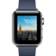 Apple Watch 2 38mm Stainless Steel Case with Midnight Blue Modern Buckle - M