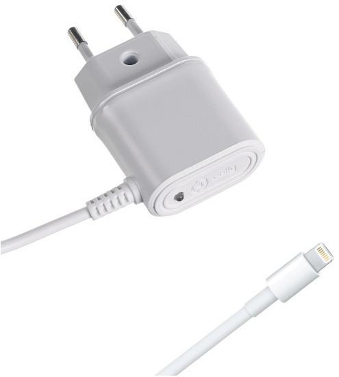 CELLY cestovní nabíječka s konektorem Apple Lightning, 1A, blister