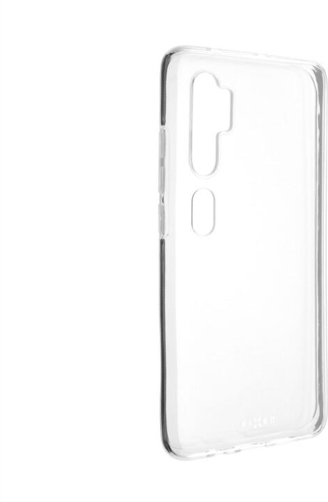 FIXED ultratenké TPU gelové pouzdro pro Xioami Mi Note 10/10 Pro, čiré