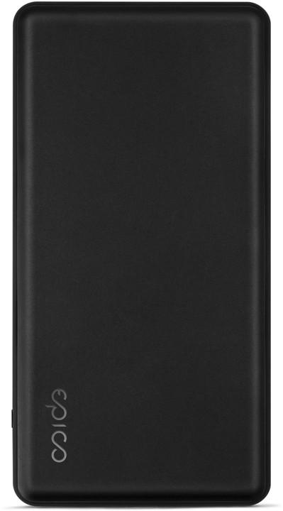 EPICO P10 Powerbanka 10 000mAh (PD 18W + Fast Charge), černá