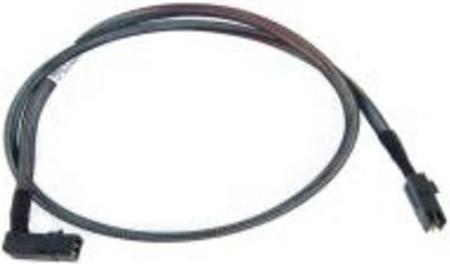 Microsemi Adaptec® kabel ACK-I-rA-HDmSAS-4SATA-SB, 0.8m (pravoúhlé konektory)